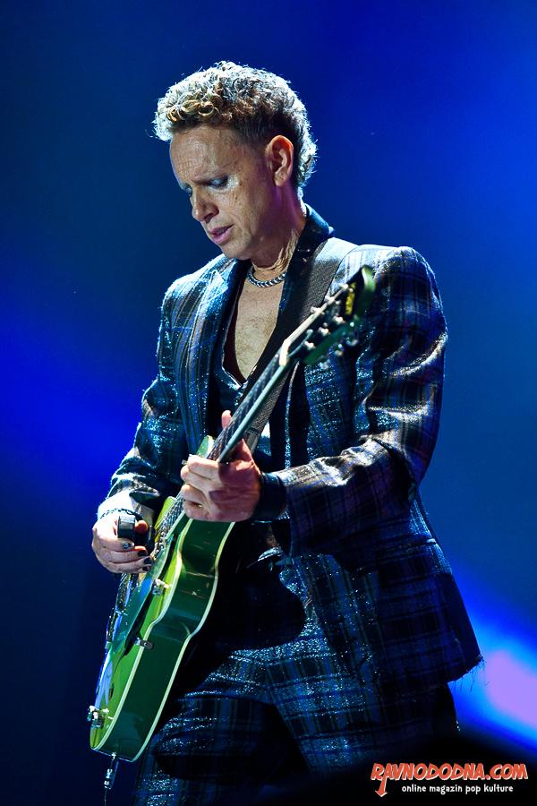 Depeche Mode u Areni Zagreb (Foto: Tomislav Sporiš)