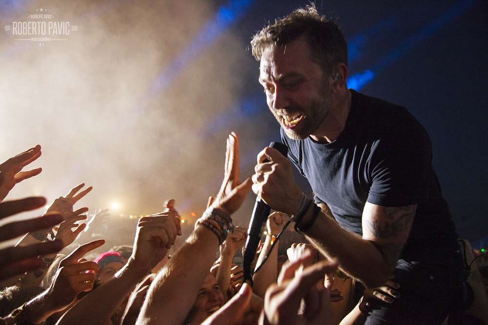 Rise Against na Nova Rock 2015 festivalu (Foto: Roberto Pavić)