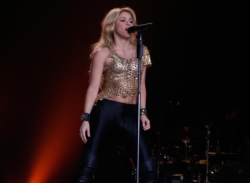 Shakira u zagrebačkoj Areni (Foto: Walter Thompson)
