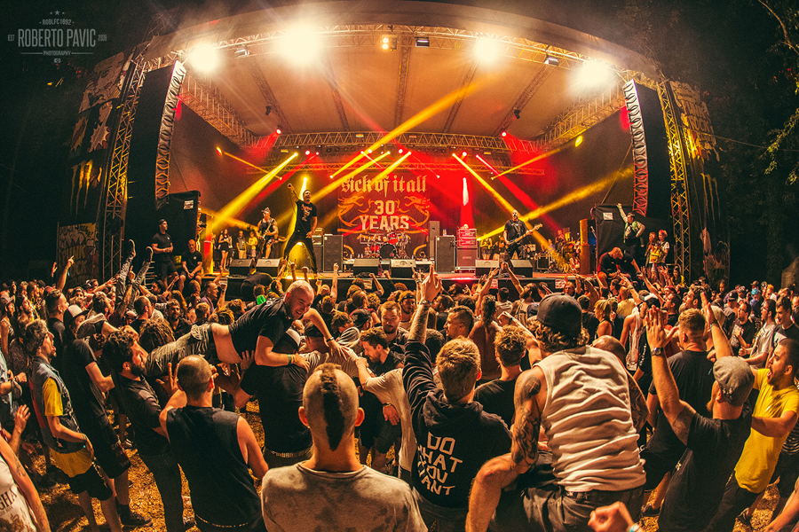 Punk Rock Holiday u Tolminu 2016 - Sick Of It All (Foto: Roberto Pavić)