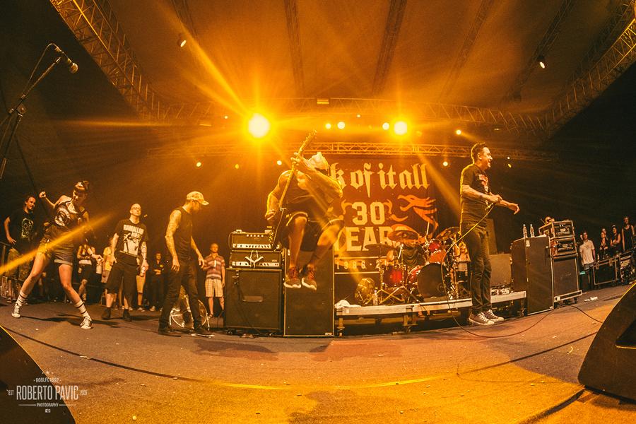Punk Rock Holiday u Tolminu 2016 - Sick Of It All (Foto: Roberto Pavić)