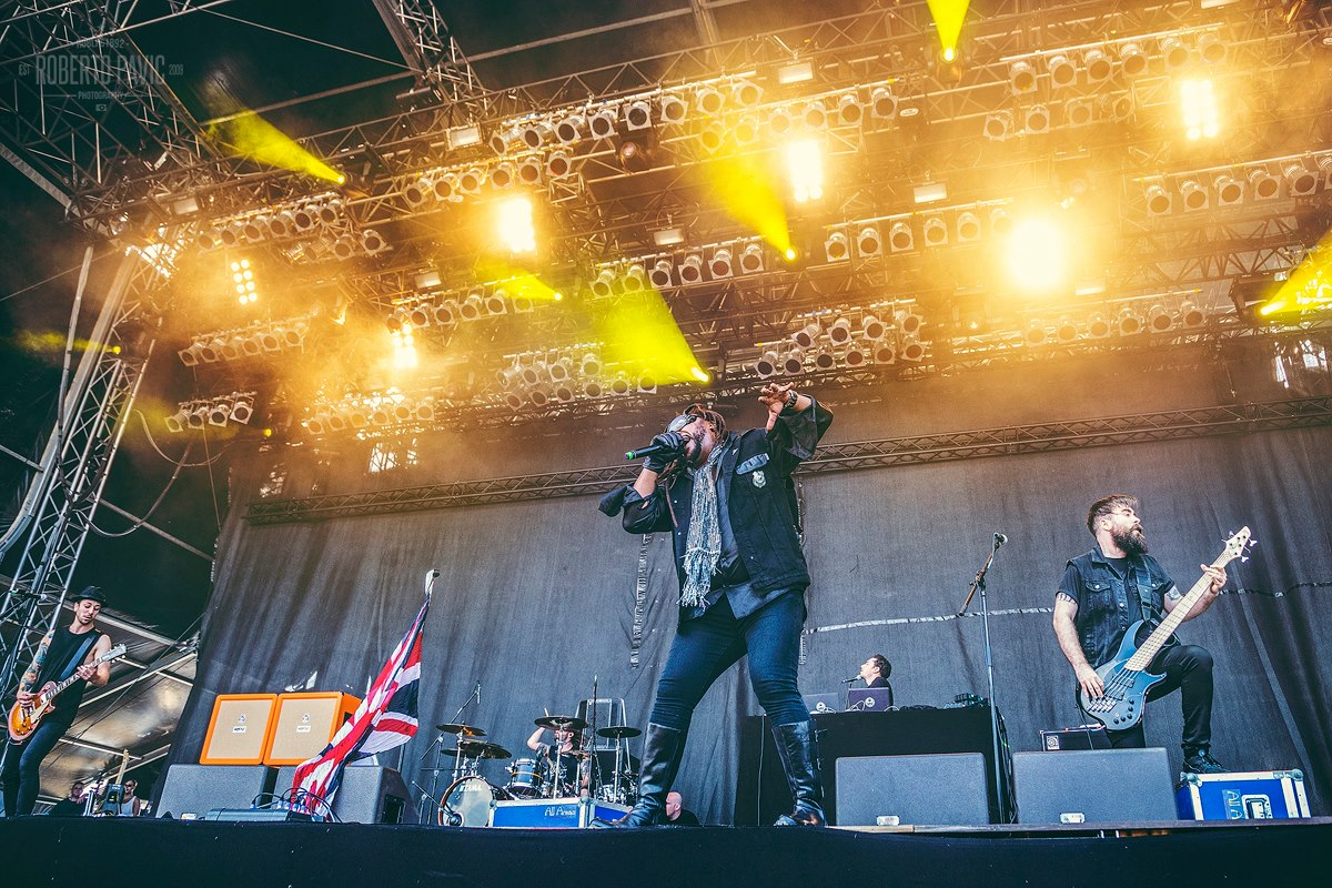 Skindred na festivalu Nova Rock 2016 (Foto: Roberto Pavić)