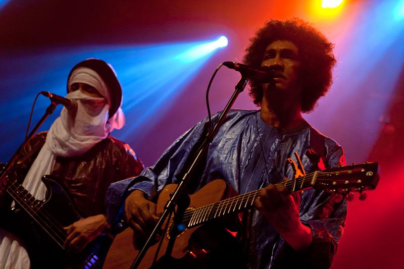 Tinariwen u Tvornici (Foto: Tomislav Sporiš)