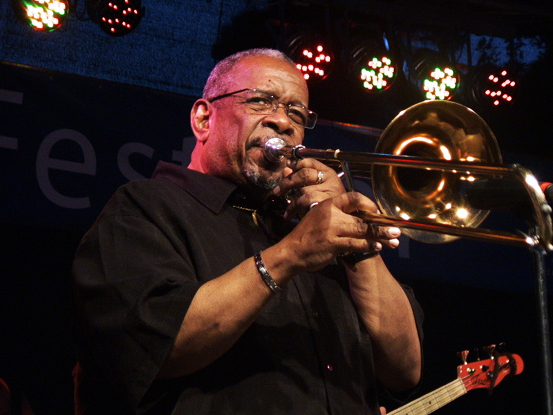 Fred Wesley and The New JB Horns (Foto: Zoran Stajčić)