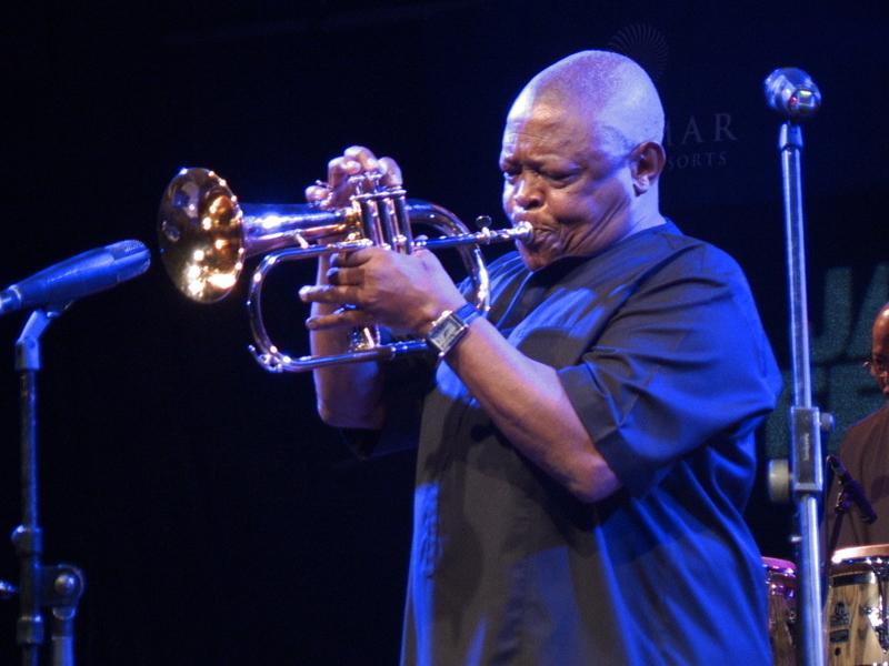 Hugh Masekela na Valamr Jazz Festivalu (Foto: Zoran Stajčić)