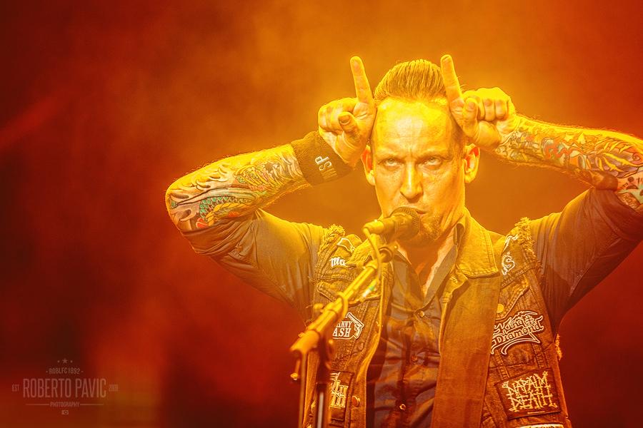 Volbeat na Nova Rock Festivalu (Foto: Roberto Pavić)
