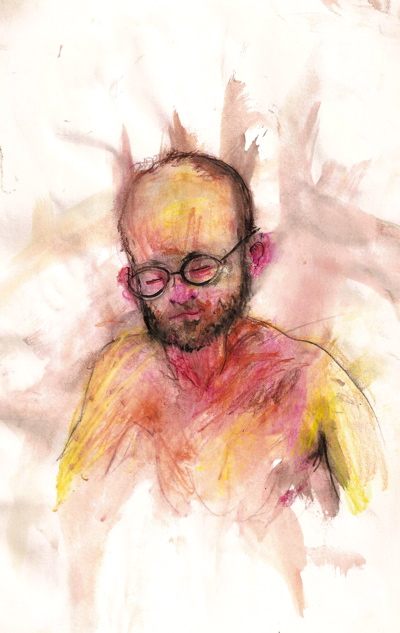Bryan Lewis Saunders - autoportret, korištena droga: Xanax (2 mg)