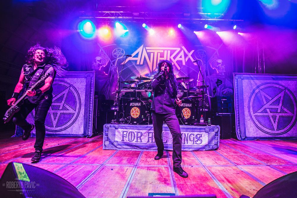 Anthrax na Zagrebačkom velesajmu (Foto: Roberto Pavić)