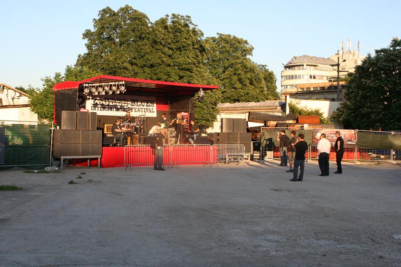 Pozornica 2nd Zagreb International Blues Festivala