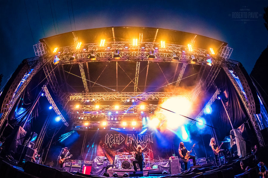 Iced Earth na Metaldays 2017 (Foto: Roberto Pavić)