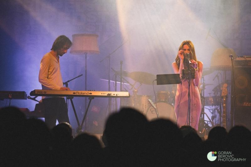 Sara Renar u Tvornici Kulture (Foto: Goran Berović)