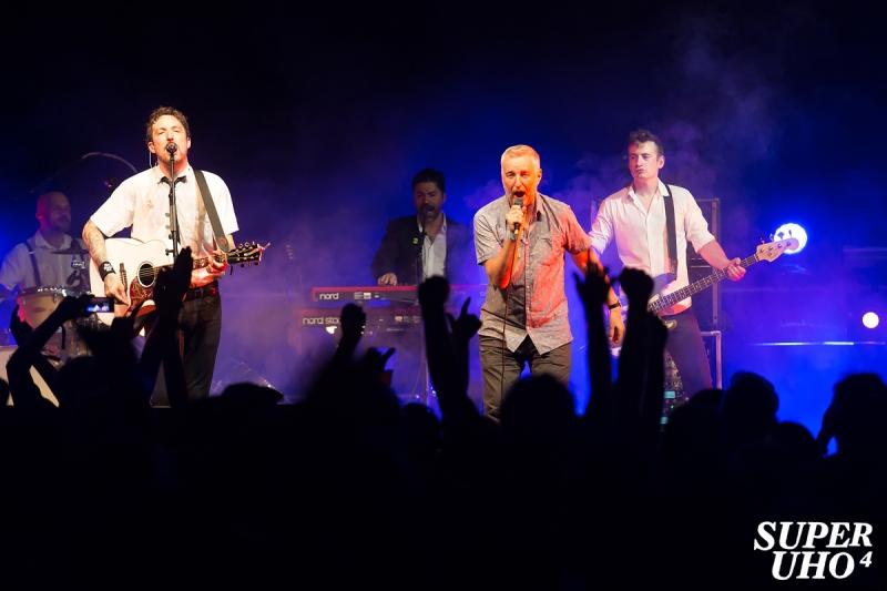 Frank Turner & The Sleeping Souls na 4. SuperUho festivalu u Primoštenu (Foto: Tomislav Sporiš)