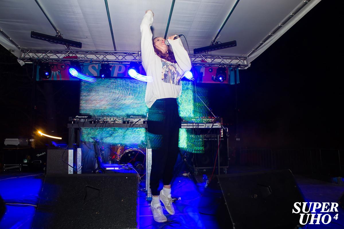 Jessy Lanza na 4. SuperUho festivalu u Primoštenu (Foto: Tomislav Sporiš)