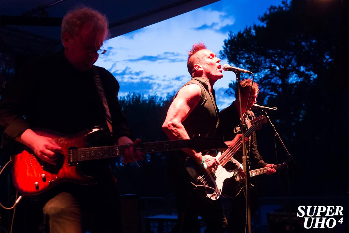 The Membranes na 4. SuperUho festivalu u Primoštenu (Foto: Tomislav Sporiš)