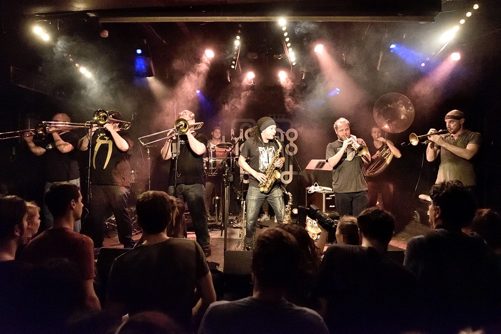 Youngblood Brass Band u Močvari (Foto: Vedran Metelko)