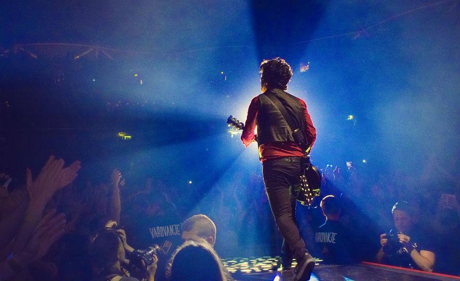 Green Day u Areni Stožice (Foto: Bostjan Tacol)