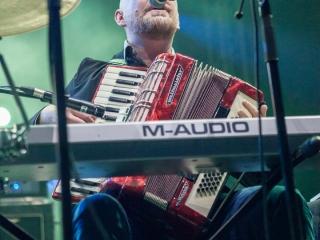 Rundek Cargo Trio na 12. Pozitivnom koncertu u Domu sportova (Foto: Izidor Tačković)