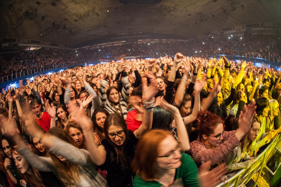 Bajaga i Instruktori na 12. Pozitivnom koncertu u Domu sportova (Foto: Izidor Tačković)