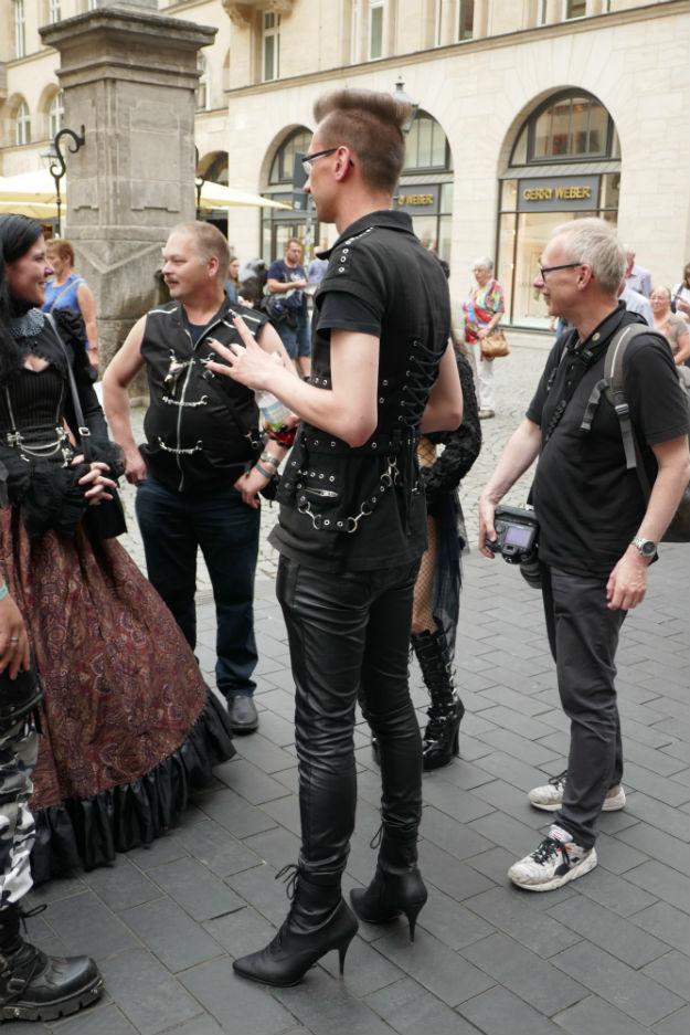 Leipzig u vrijeme održavanja 26. Wave-Gothic-Treffena (Foto: Tomislav Ljubojević)
