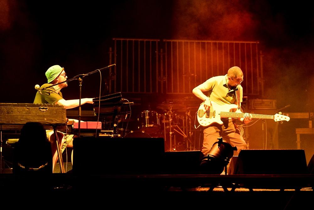 Kamaal Williams Ensemble u Pulskoj areni na otvorenju Dimensions festivala (Foto: Vedran Metelko)