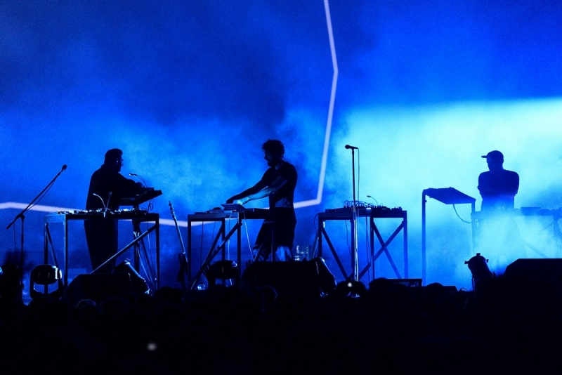 Moderat u Pulskoj areni na otvorenju Dimensions festivala (Foto: Vedran Metelko)