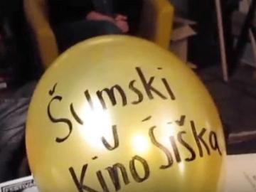 Marko Brecelj najavljuje Šumski u Kinu Šiška (Izvor: Youtube)