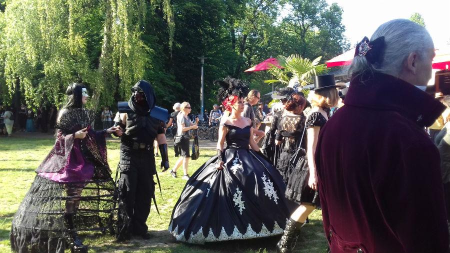Viktorijanski piknik na 26. Wave-Gothic-Treffen u Leipzigu (Foto: Tomislav Ljubojević)