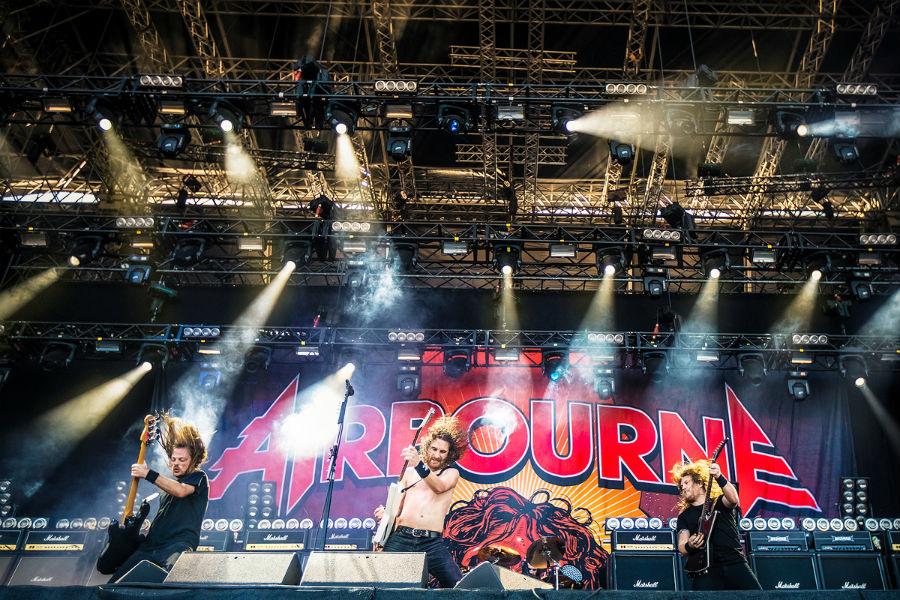 Airbourne na Nova Rock 2017 festivalu (Foto: Roberto Pavić)