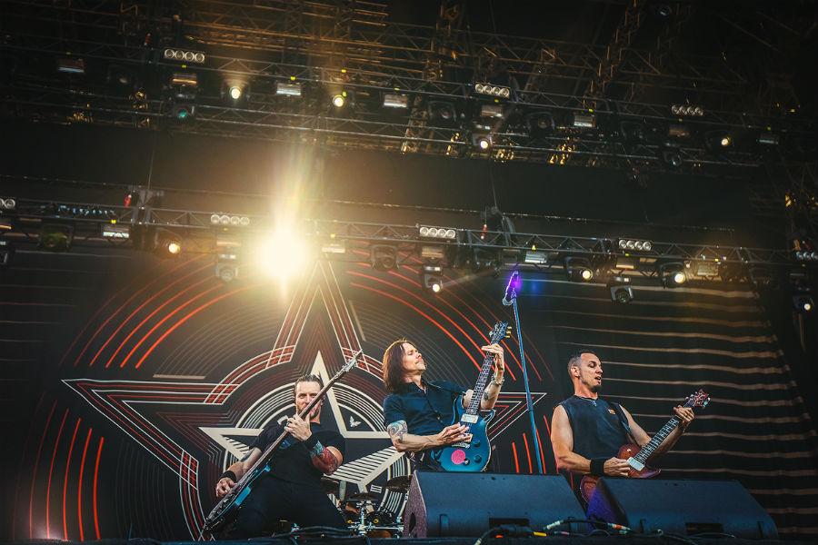 Alter Bridge na Nova Rock 2017 festivalu (Foto: Roberto Pavić)