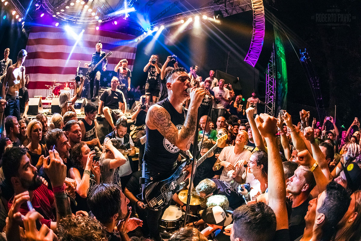 Anti-Flag - Punk Rock Holiday 2017, Tolmin (Foto: Roberto Pavić)