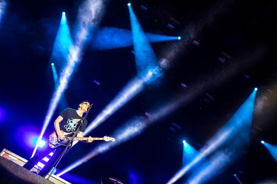 Blink 182 na Nova Rock 2017 festivalu (Foto: Roberto Pavić)