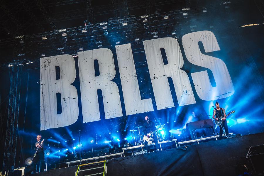 Broilers na Nova Rock 2017 festivalu (Foto: Roberto Pavić)