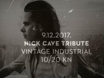 Nick Cave Tribute u Vintage Industrial Baru