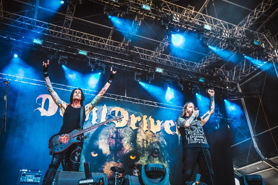 DevilDriver na Nova Rock 2017 festivalu (Foto: Roberto Pavić)