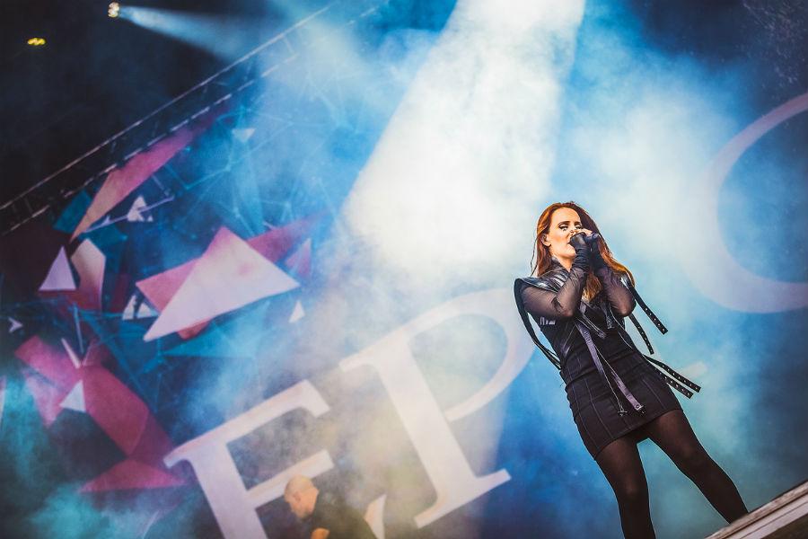 Epica na Nova Rock 2017 festivalu (Foto: Roberto Pavić)