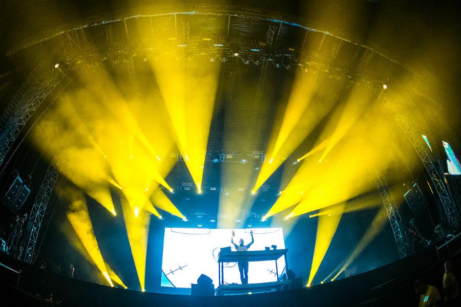 Fatboy Slim na Nova Rock 2017 festivalu (Foto: Roberto Pavić)