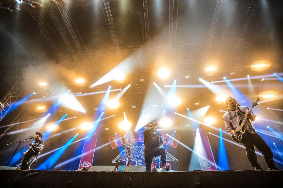 Five Finger Death Punch na Nova Rock 2017 festivalu (Foto: Roberto Pavić)