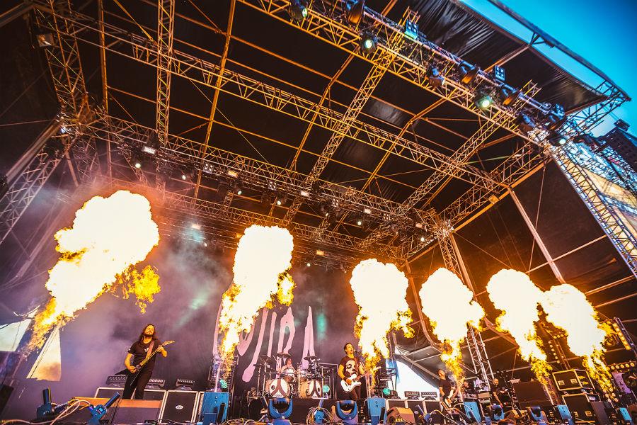 Gojira na Nova Rock 2017 festivalu (Foto: Roberto Pavić)