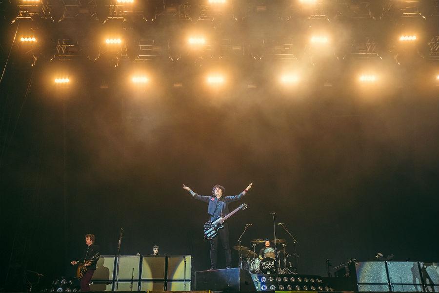 Green Day na Nova Rock 2017 festivalu (Foto: Roberto Pavić)