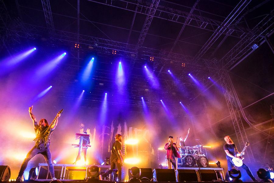 In Flames na Nova Rock 2017 festivalu (Foto: Roberto Pavić)