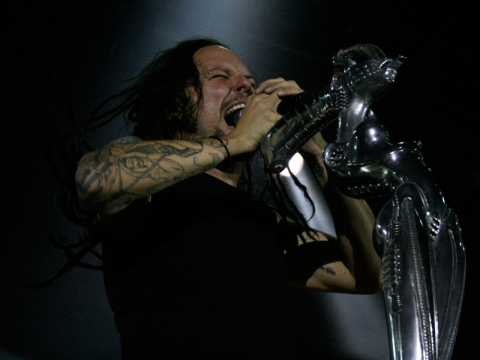 Korn, Jonathan Davis (Foto: Zoran Stajčić)