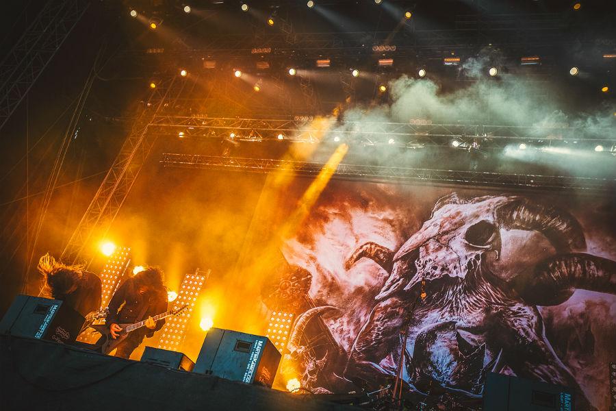 Kreator na Nova Rock 2017 festivalu (Foto: Roberto Pavić)