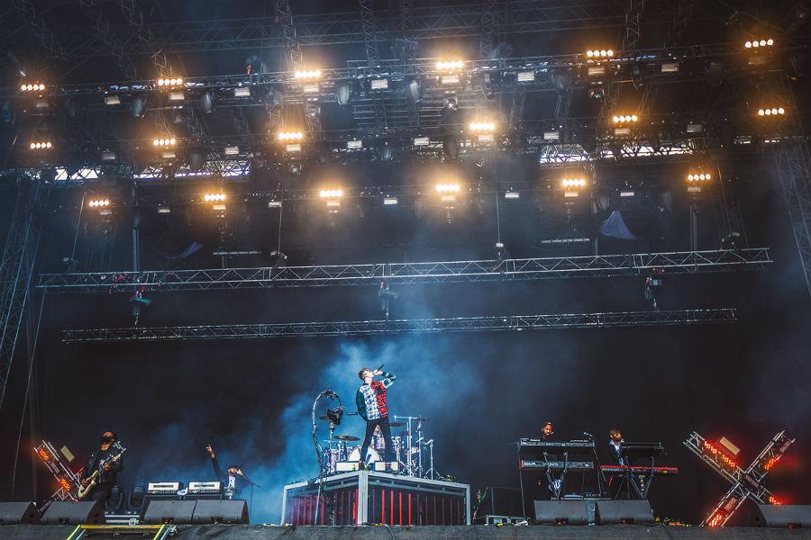 Machine Gun Kelly na Nova Rock 2017 festivalu (Foto: Roberto Pavić)