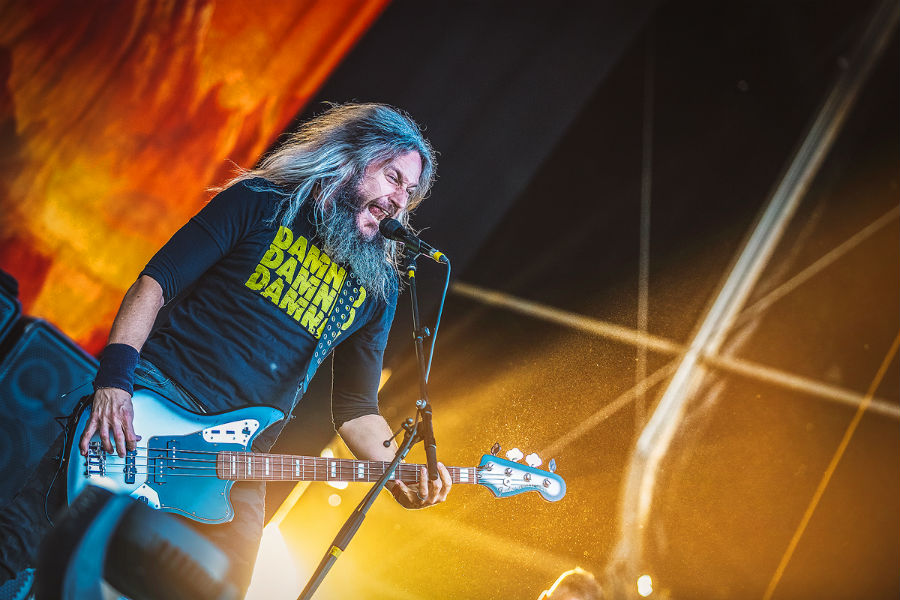 Mastadon na Nova Rock 2017 festivalu (Foto: Roberto Pavić)