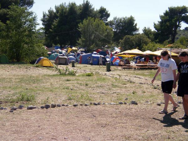 Pogled na kamp (Foto: Dražen Vujović)