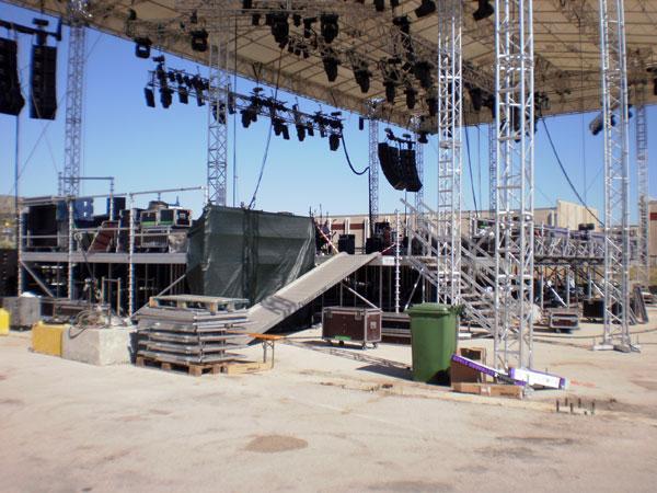 Pogled s leđa na Terra stage (Foto: Dražen Vujović)