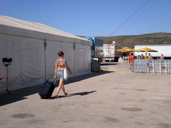 Šator za zvijezde festivala (Foto: Dražen Vujović)