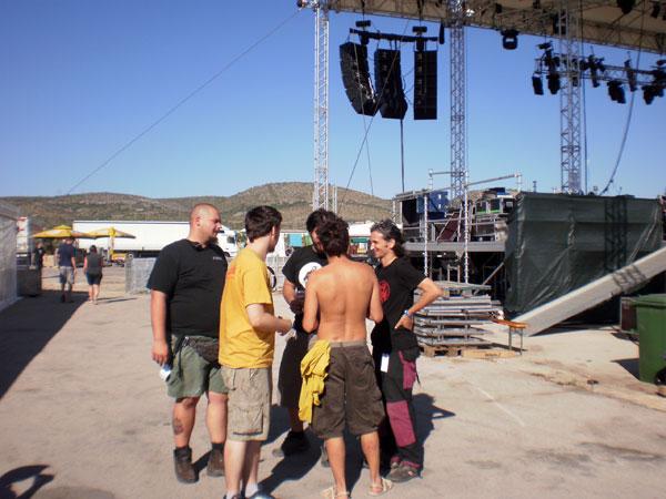 St!llness u posljednjim dogovorima s Tysonom, šefom Terra stagea (Foto: Dražen Vujović)
