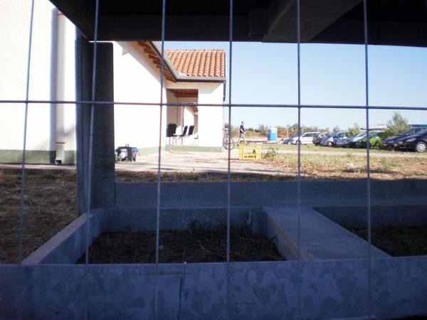 Pogled na pozadinu Aero stagea (Foto: Dražen Vujović)