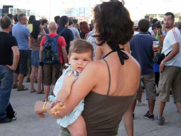 Najmlađa indie-rokerica na festivalu (Foto: Dražen Vujović)